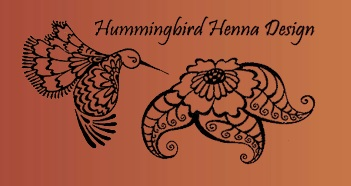 Hummingbird Henna Designs